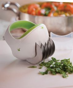 Fastcut Herb Tool via Zulily. Perfect for cutting herbs for salads and salsa!