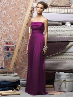 Lela Rose - Style LR144  Colors: Spa, Patone Turquoise, Firecracker, Oasis, or Tutti Frutti