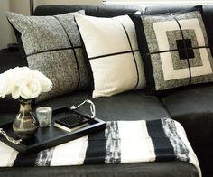 The Wool Stripe Throw   Stone Textile Studio