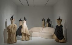 """Brancusi has his medium; Picasso, Faulkner, Shostakovich, theirs. Mine happens to be cloth."" Charles James"