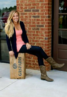 Women Wearing Cowboy Boots | ... over Skinny Jeans - 7 Ways to ...
