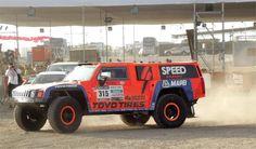 Der H3 Hummer  von Robby Gordon auf der Dakar 2013.