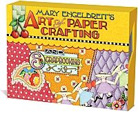 "Mary Engelbreit's Art of Paper Crafting from Andrews McMeel Publishing - Hailed by the Wall Street Journal for creating a ""vast empire of cuteness"" and designated as the ""Norman Rockwell for our times"" by People magazine, Mary Engelbreit presents the ultimate kit for creating, crafting, and commemorating"