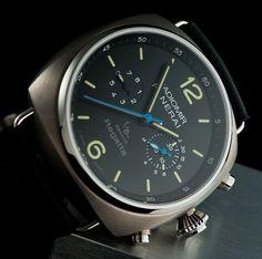 Panerai Luxury Watches @majordor | www.majordor.com Panerai Luminor, Rolex Watches For Men, Breitling Watches, Luxury Watches For Men, Men's Watches, Dream Watches, Cool Watches, Panerai Regatta, Best Looking Watches