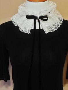 Lace Neck Collar Detachable Victorian Inspired by OddLittleBirdie