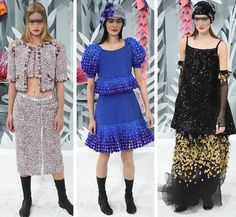 2016 SS Dior & Chanel Fashion show with Newest Fabric -----Colorful Textile