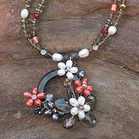 Beautiful necklace made in Thailand. Check out Novica.com for all kinds of cool stuff.