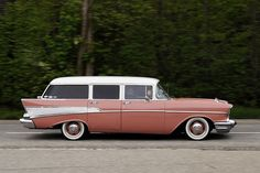 57 Chevy Bel-Air station wagon