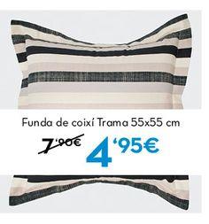 Funda de coixí Trama. Rebajas en www.lamallorquina.es