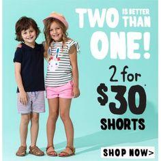 Shorts @ Cotton On Kids - Bargain Bro