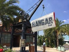 My Favorite Watering Holes at Walt Disney World and Universal Orlando - Jock Lindsey's Hangar Bar
