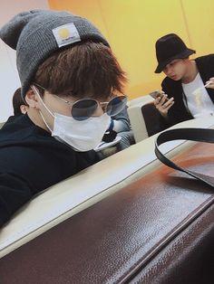 Jimin and Namjoon