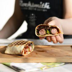 Speck wurst tortilla