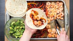 One Pan Shrimp Tacos - Twisted