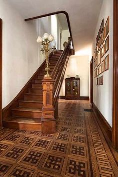 1877 Italianate staircase