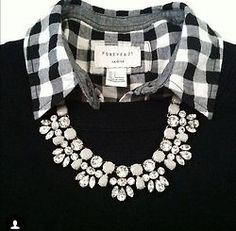 A necklace like this for spring could work with the right outfit...