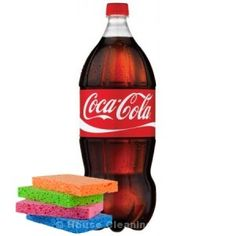 Coca cola – do not only drink it, use it! Home cleaning tips using Coca cola.