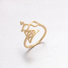 10pcs/Lot Wholesale Fashion Rings Lightning Scar Glasses Deathly Hallows Rings Harry Potter for Women Girl Can Mix Color