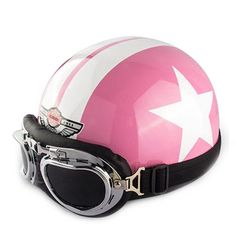 New Motorcycle Street Riding Open Face Half Helmet Vintage National Flag Chopper Cruiser Biker Scooter Helmet & Goggles & Visor