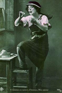 * Femme cordonnier 1902