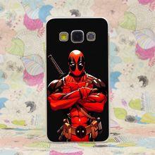 460HJ bonito Deadpool Hard Case capa transparente para Galaxy A3 A5 7 8 J5 7 nota 2 3 4 5 & grande 2 Prime //Price: $US $1.69 & FREE Shipping //    #tonystark #blackwidow