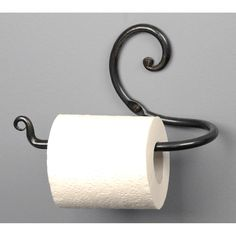 Do you position the toilet tissue over or under the roll? No matter, here are the various types of toilet paper holders you could choose for the bathroom. A roll of toilet paper . Read Best Various Sorts Of Toilet Tissue Holders Washrooms Ideas Metal Projects, Metal Crafts, Wrought Iron Decor, La Forge, Blacksmith Projects, Forging Metal, Iron Furniture, Furniture Design, Iron Art