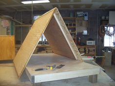 Large A Frame Dog House Under Construction Double Wall And Floor R