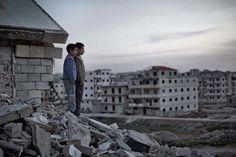 Fotografia jornalística #Warphotography  Fotos devastadoras da vida em Alepo