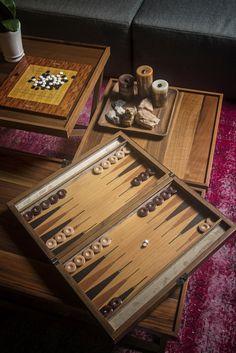 SY BACKGAMMON / TAVLA | (New) Turga Collection | Turga35 Walnut