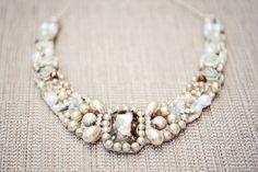 wedding statement necklace