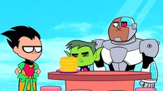 Teen Titans Go! - 'Waffles' Preview Clip and Images