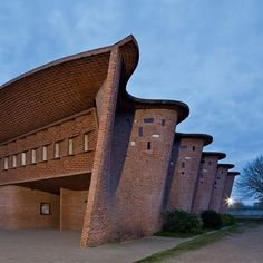 Church at Atlantida, Uruguay, by Eladio Dieste