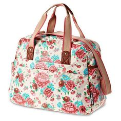 Basil Bloom Carry All Bag Gardenia / White
