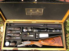 "Holland and Holland .375 Double Rifle ""Royal Ejector"" lavishly embellished by master engraver, Philippe Grifnee - Price 175,000 $"
