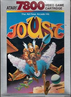 Joust Atari 7800 video game cartridge
