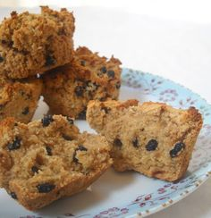 The Spunky Coconut: Blueberry Muffins, Egg-free, Grain-free, VeganGo Ahead Honey, Its Gluten-free!