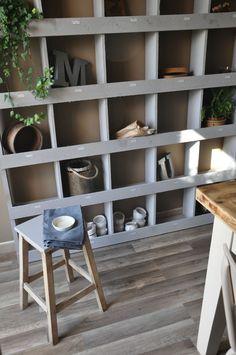 Meuble casiers en planches de chantier home made..... le joli monde d'Aurore