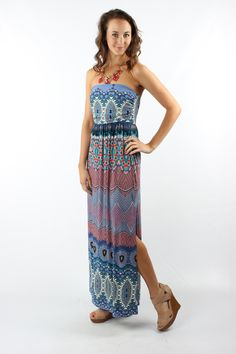 Gone Yachting Print Maxi