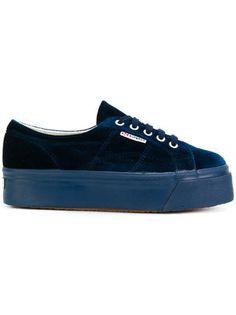 I need size 38.5 IT (= 8.5 USA). Superga platform velvet sneakers