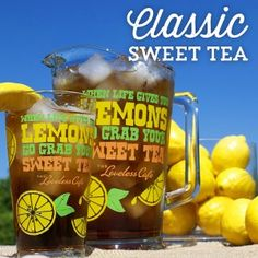 It doesn't get more traditional than classic sweet tea from the Loveless Cafe!