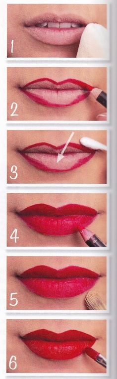 For lipstick to look brightest and stay on longest