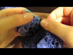 How to Make a Sashay Scarf--This is a great video tutorial on how to make this scarf.  Looks very easy.