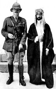 Viscount Allenby and King Faisal of Iraq