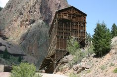 An old mine near Creede, Colorado
