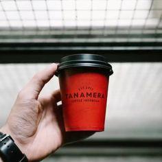 Location: Indonesia 🇮🇩 Coffee Roaster: @tanameracoffee Take Away Coffee Cup, Coffee Cups, Planter Pots, Desserts, Instagram, Food, Tailgate Desserts, Coffee Mugs, Essen