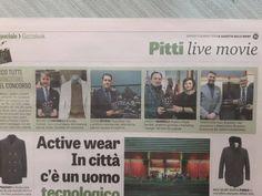 93' Pitti Immagine Uomo: Angelo Nardelli è tra i vincitori dell'ambito premio #Gazzalook2018, riconoscenza che viene assegnata stagionalmente ai capi Top del Pitti.  #AngeloNardelli #abbigliamentouomo #madeinItaly #PittiUomo #PU93 #gazzettadellosport