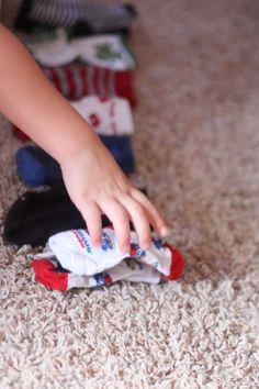 Toddler Time:  Matching Socks