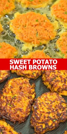 health meals Made with only 4 ingredients, these Sweet Potato Hash Browns are easy to make and very delicious. Learn how to make perfect hash browns with my step-by-step photo and video instructions. Cooktoria for more deliciousness! Vegetable Recipes, Vegetarian Recipes, Healthy Recipes, Keto Recipes, Vegetarian Hash, Vegetarian Dinners, Cake Recipes, Baby Food Recipes, Cooking Recipes