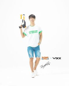 "474 curtidas, 2 comentários - I ♥ VIXX St★rlight   140804 (@vixxleoken) no Instagram: ""[VIXX for Gyeongju World Resort Endorsement] #VIXX #N #Hakyeon #leader #handsome #빅스 #엔 #레오 #켄 #라비…"""