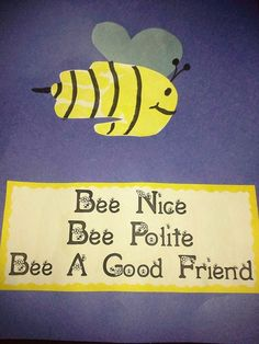 The Stuff We Do ~ Handprint Bumble Bees! ~ Sherry and Melissa